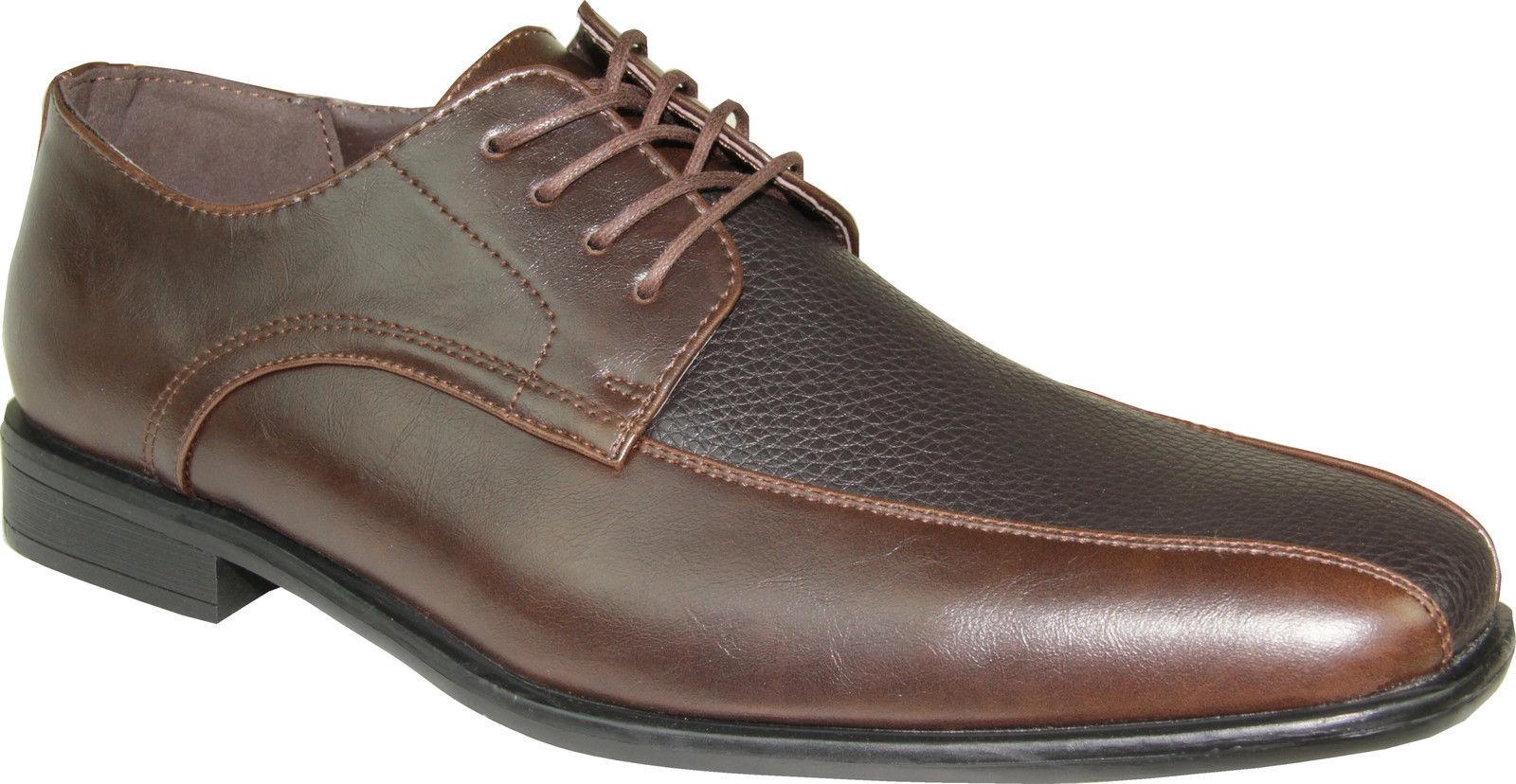 BRAVO nuovo KELLY-3 Dress sautope classeic Oxford Leather Lining Marronee Sautope classeiche da uomo