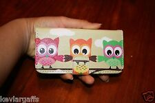 Cellphone Case Owl Card Slot Wallet Leather Cell Phone Case for iPhone 5 5G 5S