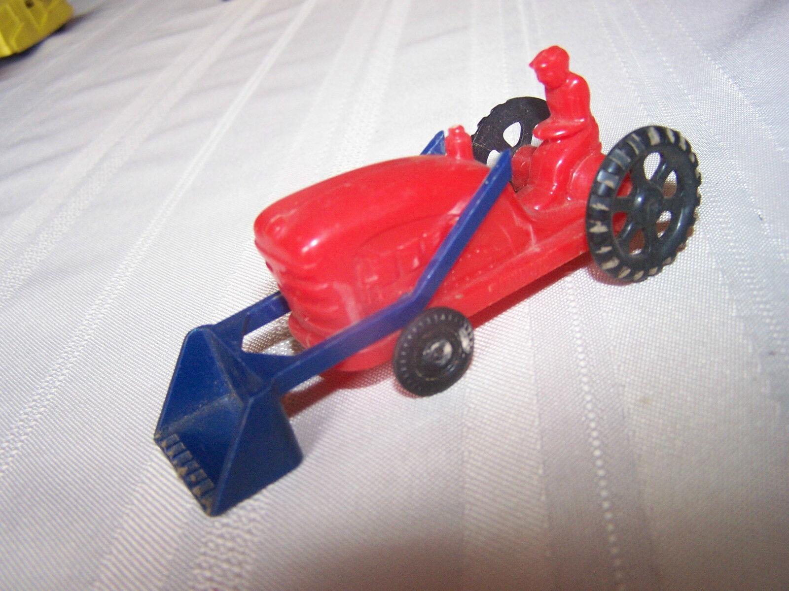 Wannatoys EEUU Plástico Duro red Tractor de Granja Buen Estado