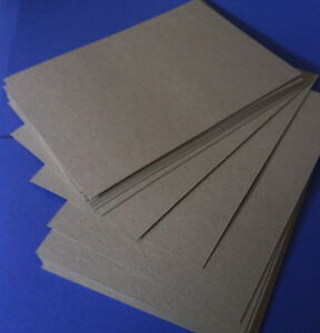 Details about Cardboard Boxboard 1 2mm x 20 Sheet Pack A4 Documents Photo  Protection
