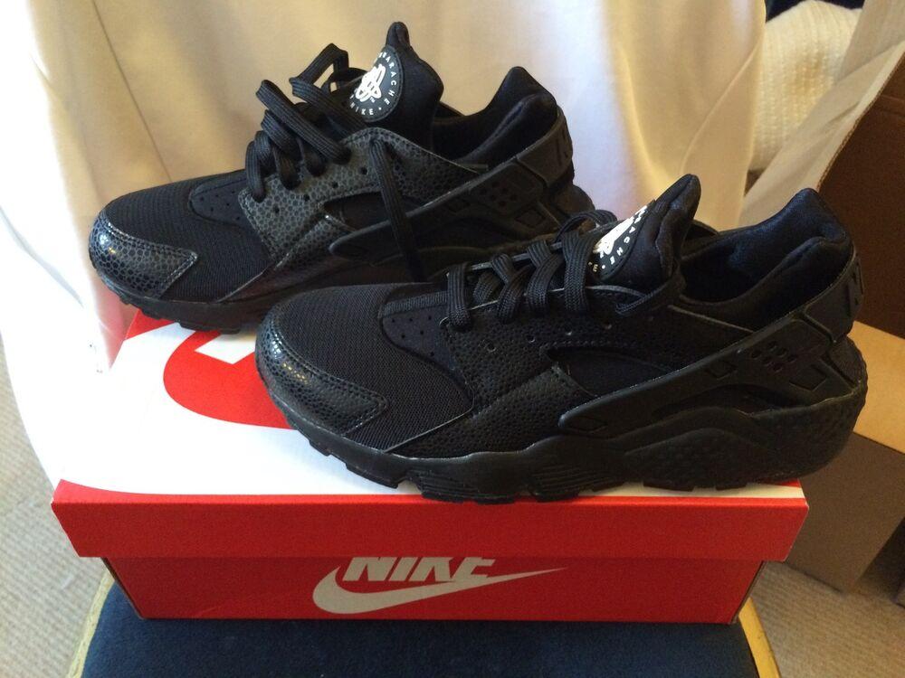 Nike Air Huarache Triple noir Reptile le uk6 (idéal fit for uk5) us8.5-