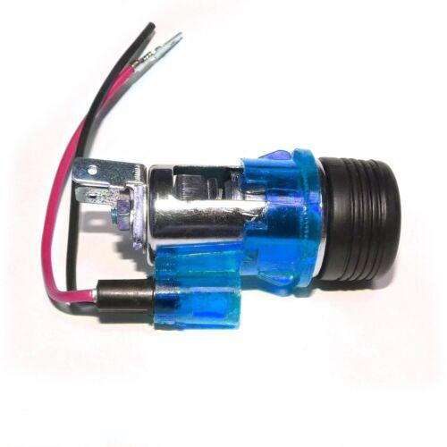 Azul Universal Para Encendedor Plug /& Socket Para Audi Tt Rs4 S4 S6 100 Quattro