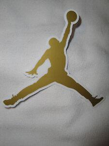 Image Is Loading Air Jordan Jumpman Logo Sticker Nike Swoosh