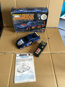 Mattel 1628 Drive Command Porsche 935 Car remotely controlled years 80 Scale 1/20