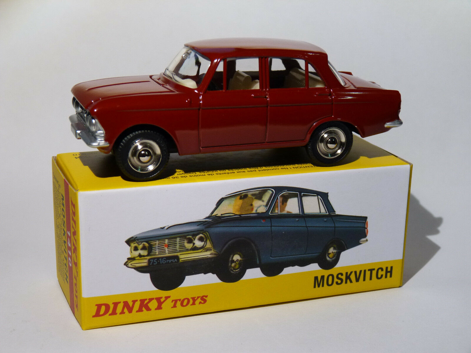 Moskvitch - ref 1410 au 1 43 dinky toys atlas
