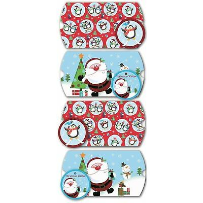Xmas Pillow Gift Pouches Box Tags Tissue Paper Packs Craft Wrap Cute Jewellery