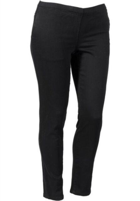 Sheego Jeans Leggings Gr. 46 - 58 Schwarz/Anthrazit Kurz Größen (620) NEU