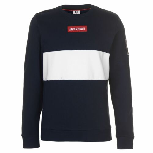 Jack and Jones Core Marvin Crew Pull Homme Gents Pull pleine longueur manches