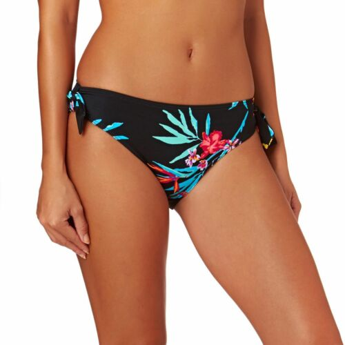 Lepel LE172170 Swimwear Tropics Low Rise Bikini Pant in Black Print