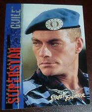 Jean-Claude Van Damme 1994 Upper Deck Street Fighter Movie Trading Card 41 Guile