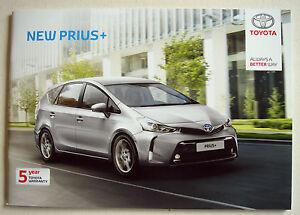 Toyota Prius New July 2016 S Brochure Buckinghamshire United Kingdom
