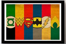 Justice League Batman Wonderwoman More Fabric Quilt Block Blanket Sewing Square