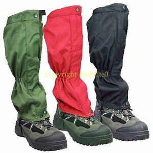 Walking-Gators-Gaytors-Gaters-Gaiters-Waterproof-Highlander-Military-Supplier