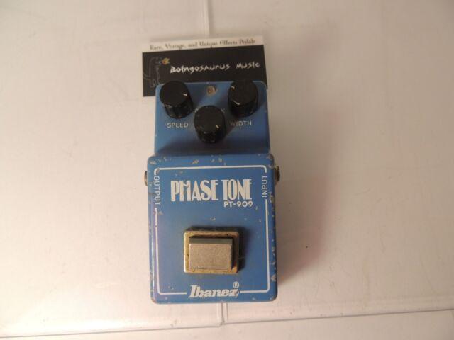 ibanez phase tone pt 909 phaser guitar effect pedal ebay. Black Bedroom Furniture Sets. Home Design Ideas