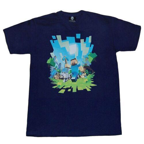 Minecraft Adventure Steve Youth T-Shirt
