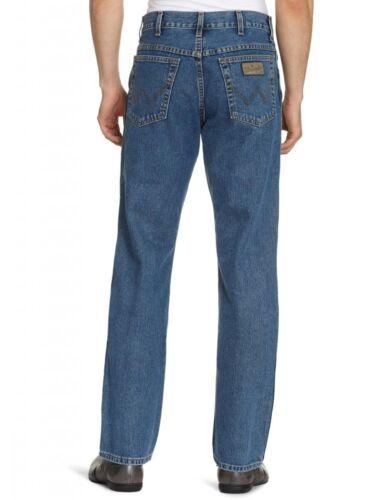 Wrangler Texas Regular Fit New Men's Straight Leg Jeans Stonewash Blue Denim