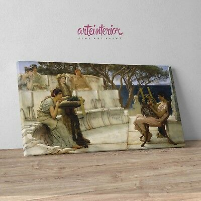 Stampa su Tela Lawrence Alma-Tadema The Roses of Heliogabalus Canvas Prints