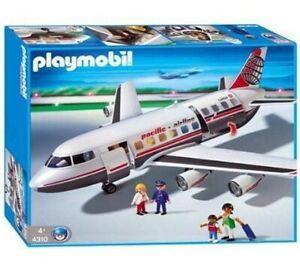 NEW-SEALED-Playmobil-4310-Large-Jumob-Transport-Jet-Plane-Airplane-Aircraft