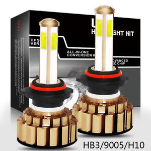 980W-98000lm-H4-H7-H11-HB3-HB4-4-seitig-LED-DRL-Auto-Scheinwerfer-Abblendlicht