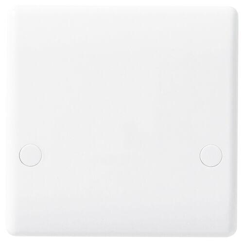 BG Nexus 879 Slimline 45 Amp Cooker Outlet Plate White
