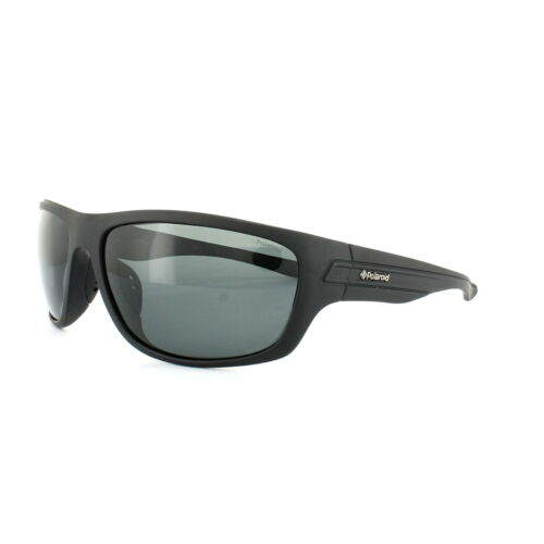 Polaroid Sport Sunglasses P8250 KIH Y2 Black Grey Polarized
