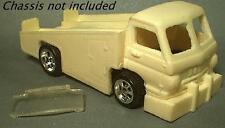 Resin HO scale dodge L700 hauler ramp truck car hauler  fits TYCO