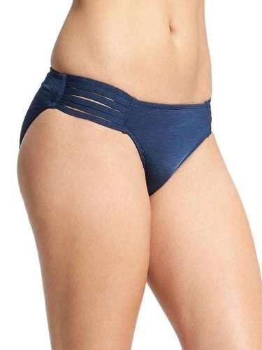 4b54e7eb09efa Athleta AquaLuxe Strappy Bikini Bottom - Medium Prussian Blue 2017 for sale  online