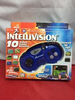 Tv Play Power Intellivision 10 Video Game System Console Classic Flashback