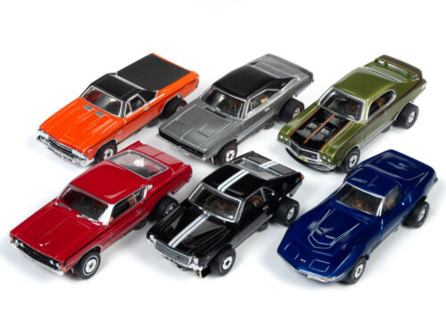 AFX Auto World ~ /'70 Chevy Corvette Muscle Cars  ~ New in Clam Pack ~  Fits AW