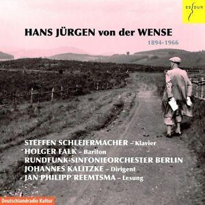 HANS-JURGEN-VON-DER-WENSE-CD-NEU-VON-DER-WENSE-HANS-JURGEN