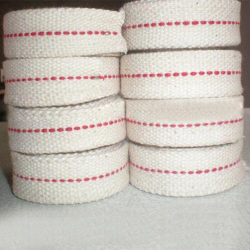 Flach Baumwolle Öl Lampe Docht Rolle für Öl Lampen und Laternen