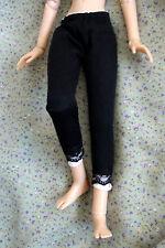 """Black - white LEGGINGS  Outfit  for 16"""" Tonner Ellowyne, BJD, ADG Delilah Noir"""