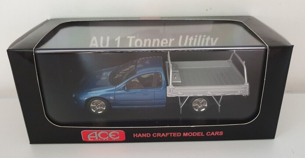 1 43 Ace Models Ford AU XR8 1 Tonner Ute - Ocean bluee Limited Edition 250pcs