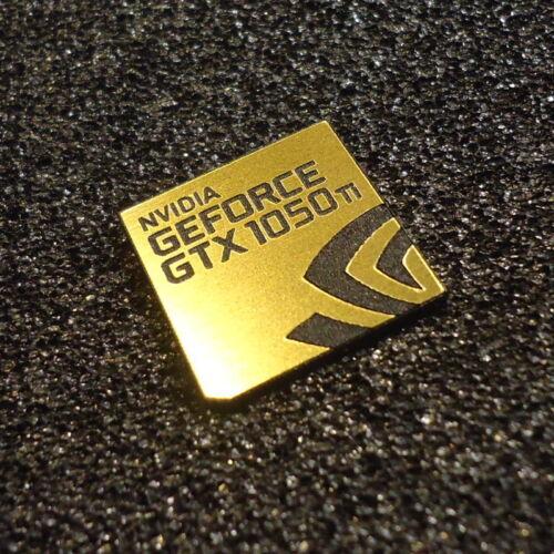 427b NVIDIA GeForce GTX 1050 ti PC Logo Adesivo Decalcomania Etichetta Custodia Laptop BADGE