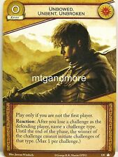 A Game of Thrones 2.0 LCG - 1x Unbowed, Unbent, Unbroken #120 - Base Set - Secon