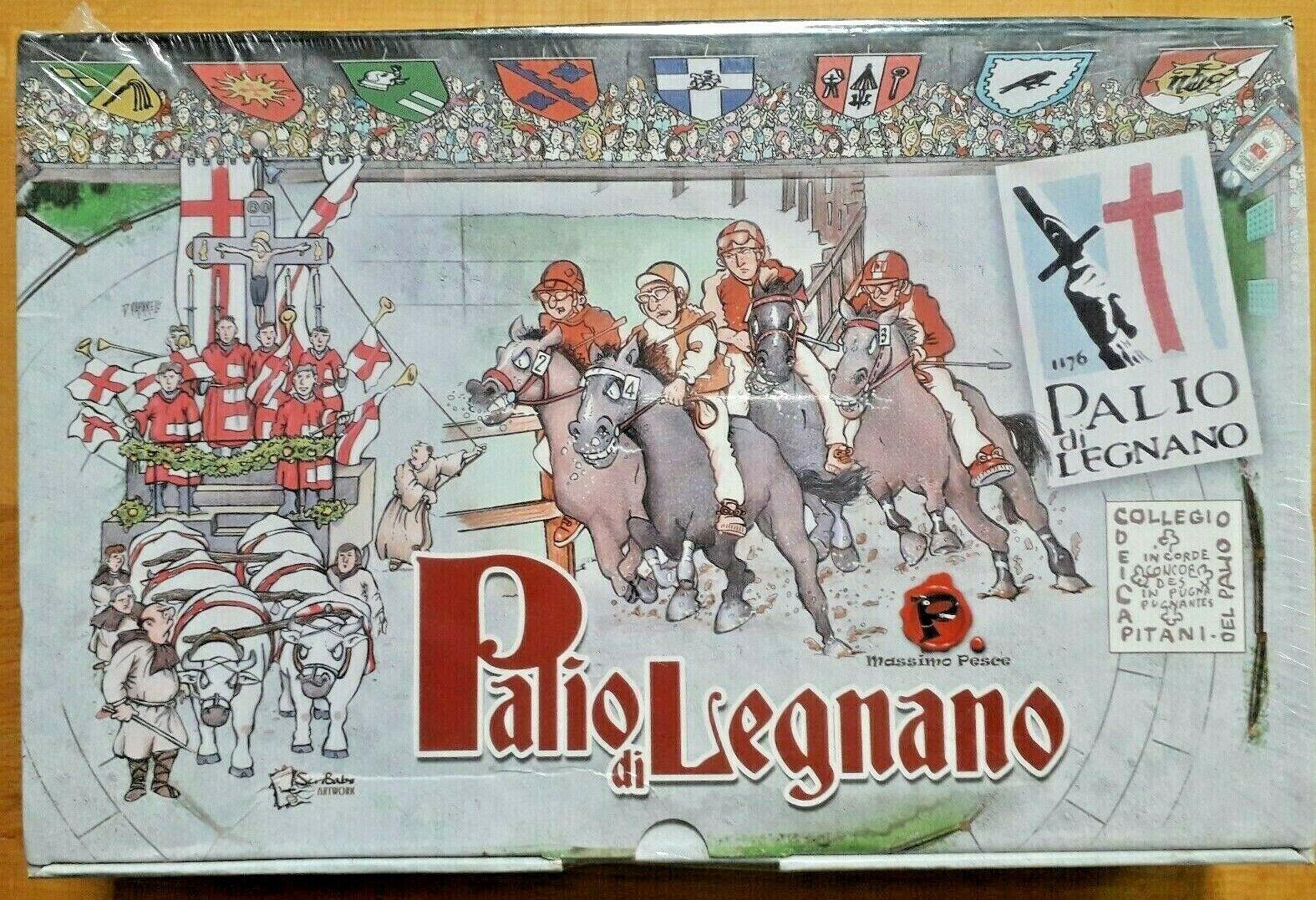 Palio di Legnano - noch fabrikseitig eingesiegelt - Pferderennen in Italien