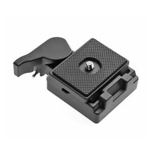 323 Quick Release Adapter w// 200PL-14 QR Plate for Manfrotto Tripod
