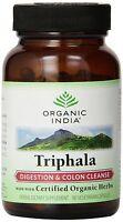 10 X Organic India Triphala 60 Capsules Vegetarian (certified Organic)s
