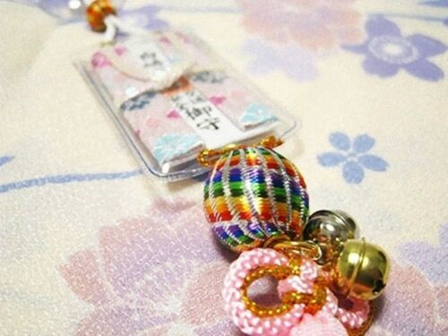 "OMAMORI Good luck charm /""CAR Accident /"" JAPAN JAPANESE DM-G146"