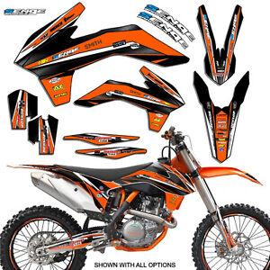 2006 2007 2008 2009 2010 2011 2012 SX 85 105 GRAPHICS FITS KTM SX85 SX105 DECO