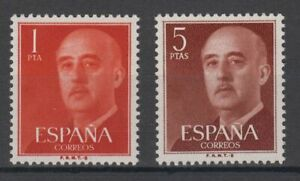 SPAIN-1960-MNH-COMPLETE-SET-SC-SCOTT-937-38-FRANCO