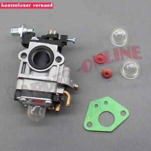 Vergaser-mit-Dichtung-Benzinfilter-fuer-Fuxtec-FX-MS152-Motorsense
