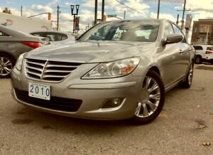 2010 HYUNDAI GENESIS | Leather •V6 • NAVI • Roof• Camera • Bluetooth