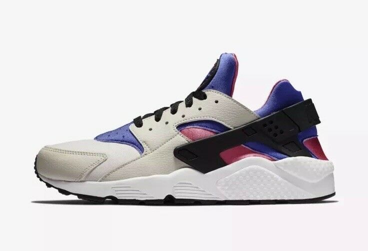 NEW Sz 12 Men's Nike Air Huarache Running shoes Dessert Sand purple 318429-056