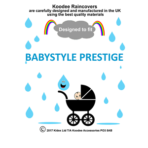 Koodee-UK-protector-contra-la-lluvia-para-caber-BabyStyle-Prestige-Cochecito-BNIP
