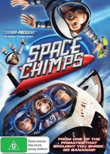 1 of 1 - Space Chimps DVD 2015 BRAND NEW SEALED TOP SELLER R4