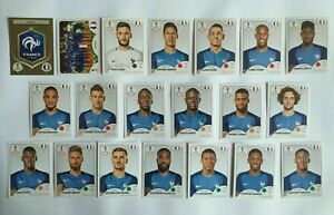 Panini-wm-2018-francia-france-Team-complete-set-World-Cup-WC-18