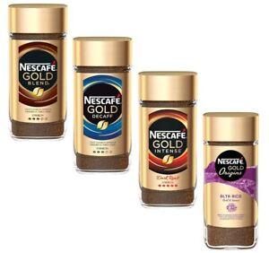 Nescafe Gold Instant Coffee - Blend / Smooth / Intense Decaf Espresso Alta Rica