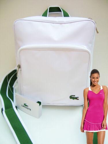 2 Bag Rucksack Backpack Casual White Lacoste 12 SzR0BgqWgn