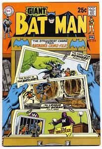 BATMAN-218-VF-Giant-G-67-DC-Comics-1970